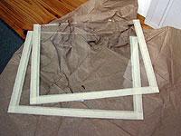 Оклейка заднего и переднего стекол