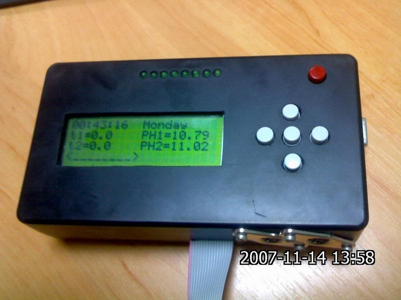 Блок управления акваконтроллера.